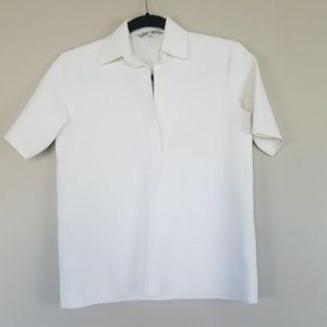 Helmut lang off white scuba t shirt sz xs